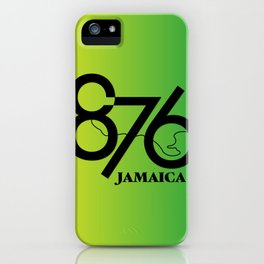 876 Jamaica iPhone Case