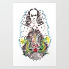 Dio : the Man on The Silver Mountain  Art Print