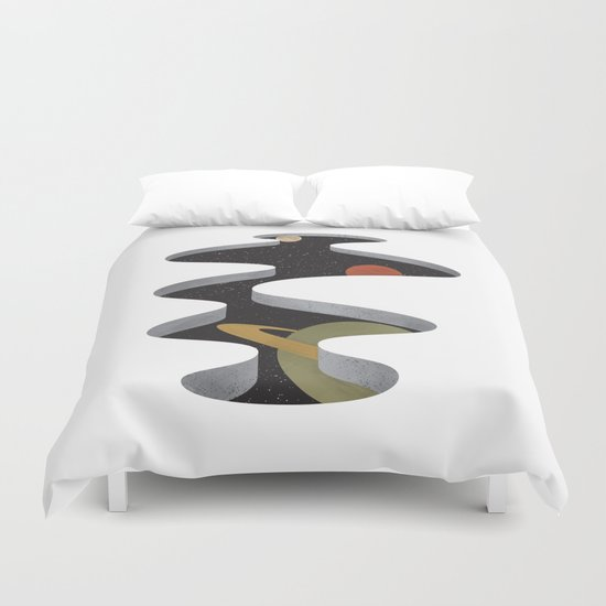 A Space In The Floor Duvet Cover