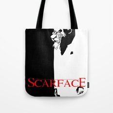 Scar Face Tote Bag