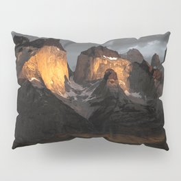 Patagonia mountains Pillow Sham