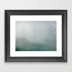 Misty Winged Framed Art Print