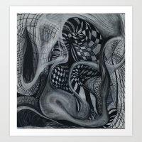 UNDUL8 Art Print