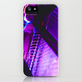 Neon Piano iPhone Case