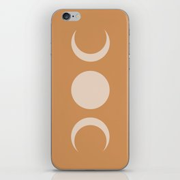 Moon Minimalism - Desert Sand iPhone Skin