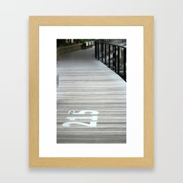 215Wide Framed Art Print