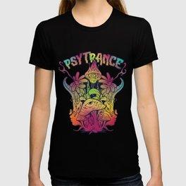 Psychedelic Trance Psytrance Goatrance Rave Music T-shirt