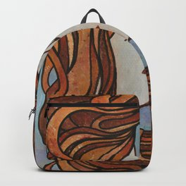 Lesbian Kiss (Art Nouveau Style) Backpack