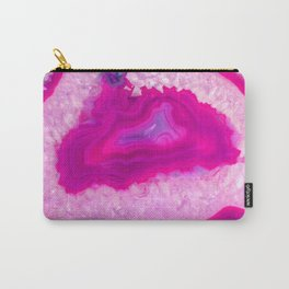 Pink ectoplasm agate Carry-All Pouch