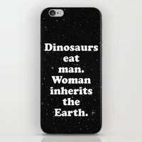dinosaurs iPhone & iPod Skins featuring dinosaurs by MelleNora