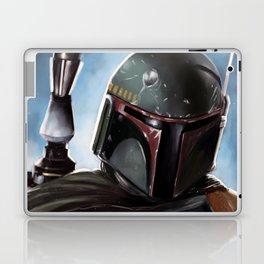 Boba Fett Art Portrait Laptop & iPad Skin