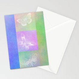 Whoever hears laughing butterflies... Stationery Cards