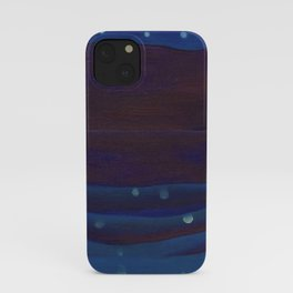 Starlight Night, Lake George, New York landscape painting by Georgia O'Keeffe iPhone Case