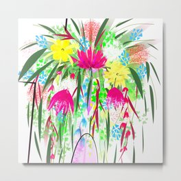 Floral design,flowers Metal Print