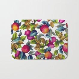 Watercolor Fruit Bath Mat