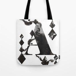 A alphabet Tote Bag