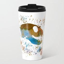 Meerkat Skull Travel Mug