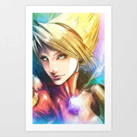 Princess of Wyndia Art Print