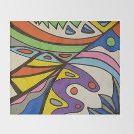Colors Throw Blanket