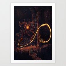 Balrog Art Print