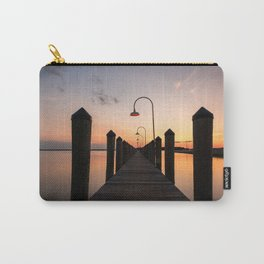 Rusty Rudder Dock Sunset Carry-All Pouch