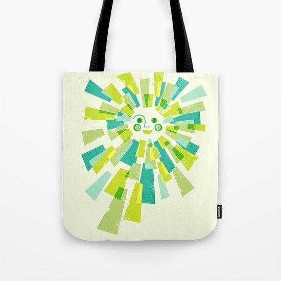 Modern Sunburst Tote Bag