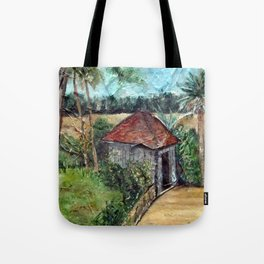 Shed on the Marsh Tote Bag