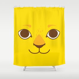 Little Lion Shower Curtain