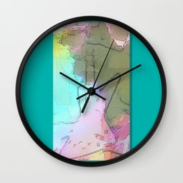 Rock 'n' Roll Fantasy Wall Clock