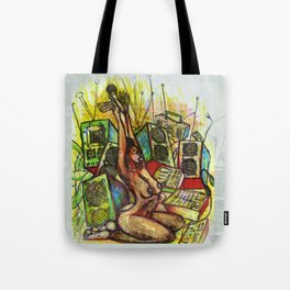 2011 MICS RCA CABLES AND SPEAKER WIRES  Tote Bag