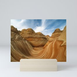 The Wave-Paria Wilderness Mini Art Print