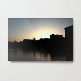Skyline Bilbao Metal Print
