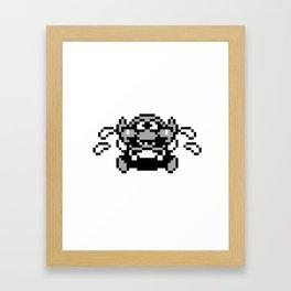 Wario 4 Framed Art Print