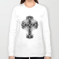cross Long Sleeve T-shirts featuring cross by T.Grimm