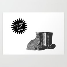 magic rabbit Art Print