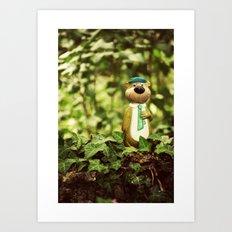 Yogi Bear Art Print