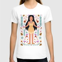 pocahontas T-shirts featuring Pocahontas by Carly Watts