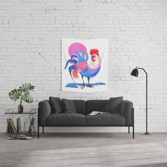 Year of the Rooster Wall Tapestry