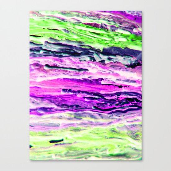 Wax #4 Canvas Print
