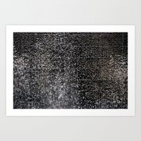 Waterfall of Tears  Art Print