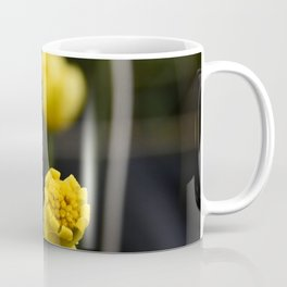 Fairytale Yellow Wild Flowers In Magical Meadow Coffee Mug