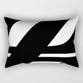 Hidden Letters. Baskerville Z Rectangular Pillow