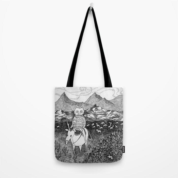 Sami fox Tote Bag