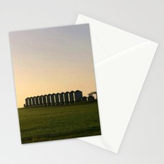 Wheat Silos Stationery Cards