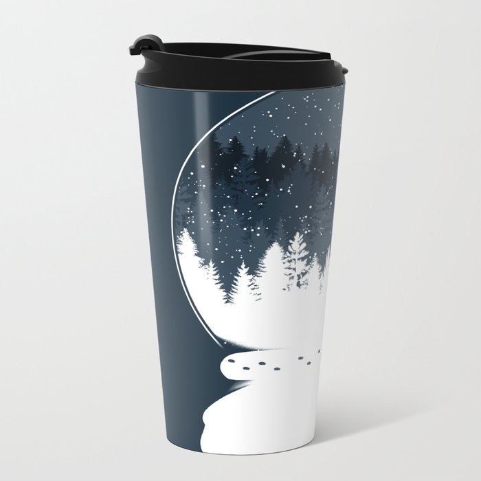 Boule à Neige Metal Travel Mug