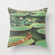 LILY POND LANE Throw Pillow