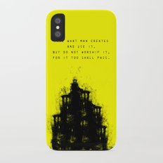 Do Not Worship. iPhone X Slim Case