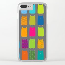 Owl-y Brights Clear iPhone Case