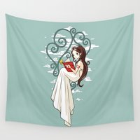 fairy tale Wall Tapestries featuring Fairy Tale by Freeminds