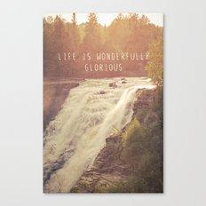 wonderful waterfalls Canvas Print